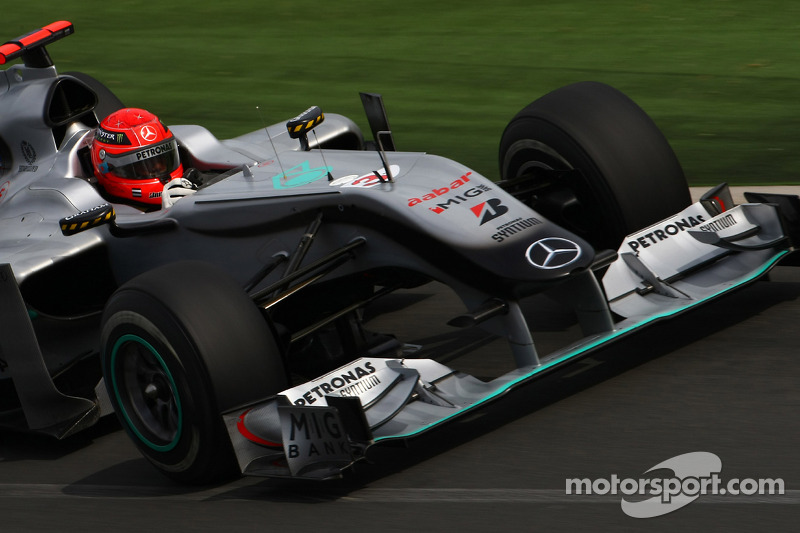 Michael Schumacher, Mercedes GP