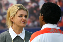 Corina Schumacher, Corinna, Wife of Michael Schumacher and Balbir Singh