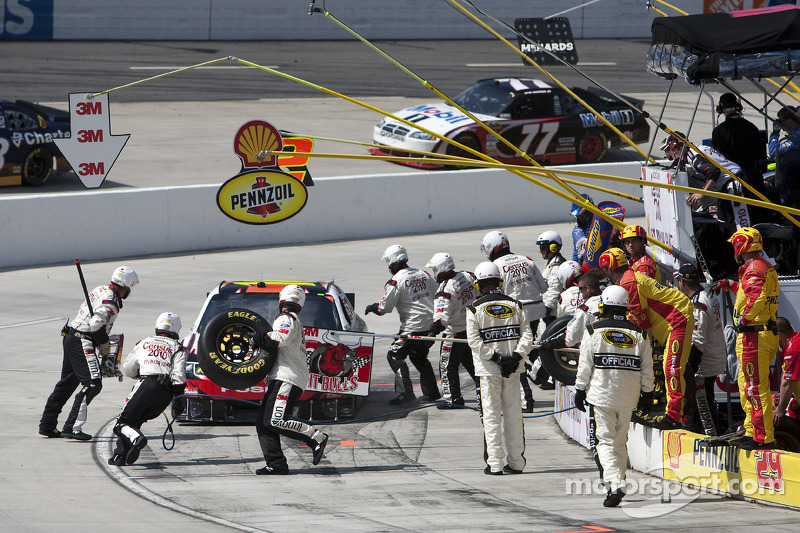 Pitstop Greg Biffle, Roush Fenway Racing Ford