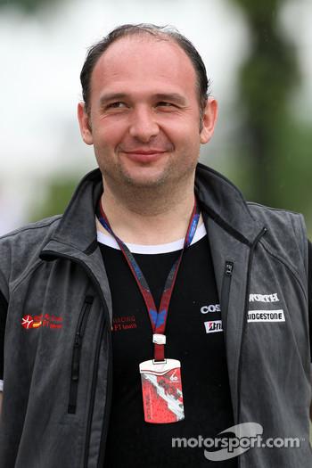HRT Team Principal Colin Kolles