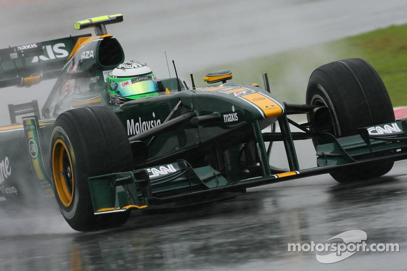 2010 - Kovalainen rejoint Lotus
