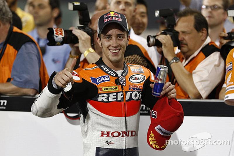Derde plaats Andrea Dovizioso, Repsol Honda Team