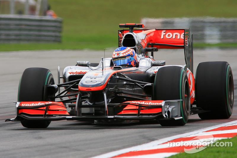 2010 - McLaren MP4-25 (Mercedes engine)