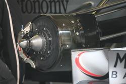 Mercedes front brakes