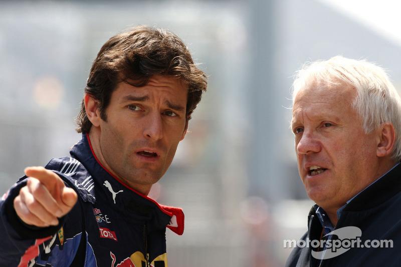 Mark Webber, Red Bull Racing, Charlie Whiting, FIA Safty delegate, Race Direktör ve offical starter