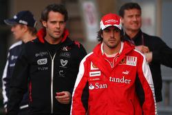 Andy Soucek, Fernando Alonso, Scuderia Ferrari