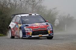 Daniel Sordo and Marc Marti, Citroën C4 Citroën Total World Rally Team