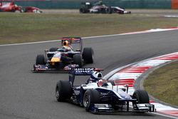 Rubens Barrichello, Williams F1 Team, Sebastian Vettel, Red Bull Racing