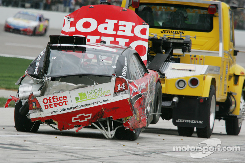 Auto van Tony Stewart, Stewart-Haas Racing Chevrolet na de crash