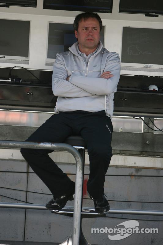 Gerhard Ungar, chef technicien HWA Mercedes