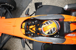 #51 Alan Racing Team Mygale M10 FPT 420: Fabrizio Angelo Comi