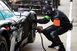 Vitaphone Racing team member at work