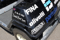 Ex-Brabham golf cart
