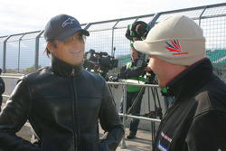 Nelson A. Piquet and Cesar Camapanico