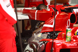Ferrari f duct system
