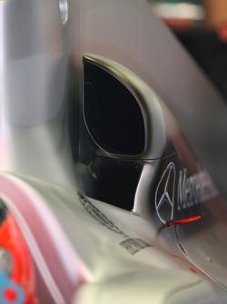 Mercedes air intake