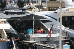 Kimi Raikkonen's boat, Iceman