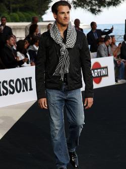 Adrian Sutil, Force India F1 Team, Amber Lounge moda gösterisinde