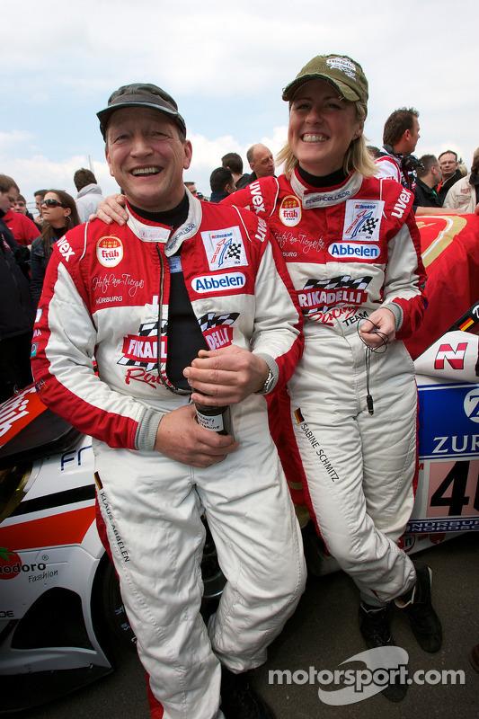 Klaus Abbelen en Sabine Schmitz