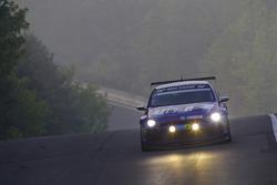 #116 Volkswagen Motorsport Volkswagen Scirocco: Ulrich Hackenberg, Stefan Gies, Bernd Ostmann, Peter Wyss