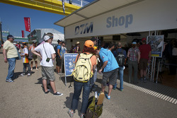 DTM Shop in the paddock