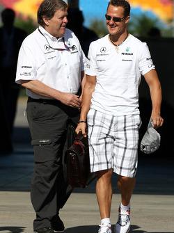 Michael Schumacher, Mercedes GP, Norbert Haug, Mercedes, Chef du Sport automobile