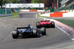 #21 Karl-Heinz Becker, Dallara Nissan WS and #22 Carlos Antunes Tavares, Dallara Nissan WS