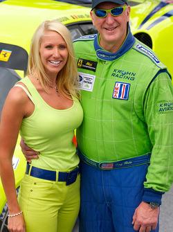 Tracy Krohn avec sa femme