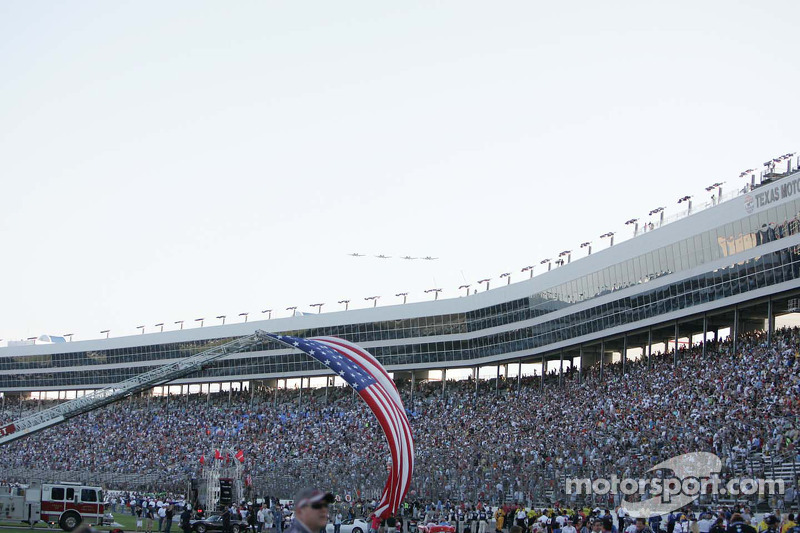 Pre-Race Activities at Texas Motor Speedway
