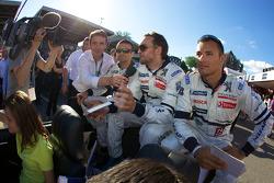 Nicolas Minassian, Franck Montagny and Stéphane Sarrazin