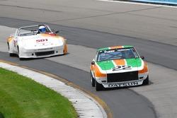 #22- James Ashe Jr. - Datsun 240Z. #501- Porsche 914/6- John ALpers.