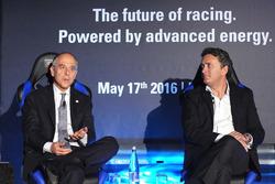 Alejandro Agag, CEO Fórmula E y Francesco Starace, CEO Manager General de Enel Group