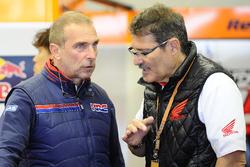 Livio Suppo, Team Principal of the Repsol Honda Team, Carlo Fiorani