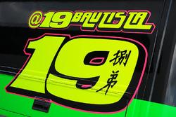 Alvaro Bautista, Aprilia Racing Team Gresini, logo