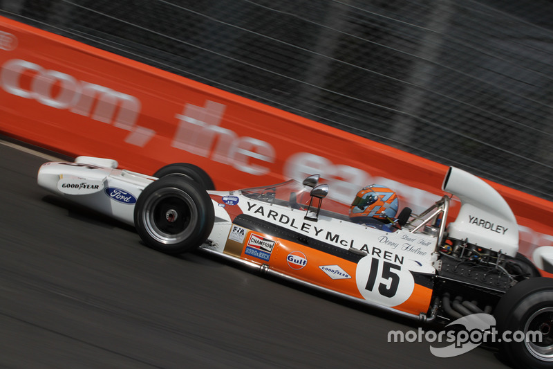 Stuart Hall, McLaren M19