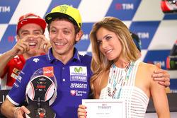 Валентино Росси, Yamaha Factory Racing и Элонора Педрон, бывшая жена Макса Бьяджи