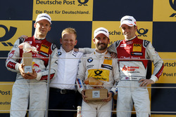 Podium:2. Mattias Ekström, Audi Sport Team Abt Sportsline, Audi A5 DTM; Stefan Reinhold, BMW Team RMG; 1. Timo Glock, BMW Team RMG, BMW M4 DTM; 3. Jamie Green, Audi Sport Team Rosberg, Audi RS 5 DTM