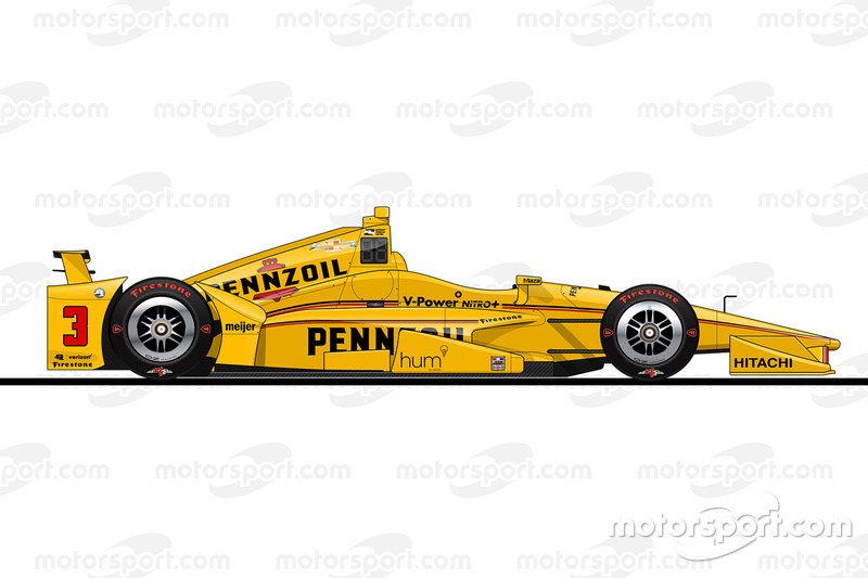 Startposition 9: Helio Castroneves (Penske-Chevrolet)
