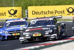 Timo Scheider, Audi Sport Team Phoenix, Audi RS 5 DTM und Gary Paffett, Mercedes-AMG Team ART, Mercedes-AMG C63 DTM