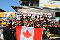 James Hinchcliffe, Schmidt Peterson Motorsports Honda pole winner