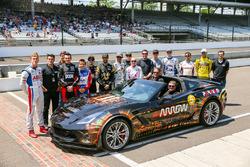 Сэм Шмиц и ARROW Chevrolet Corvette