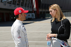 Gianni Morbidelli, West Coast Racing, Honda Civic TCR, und Alessandra Neri, B.D. Racing Motorsport, SEAT León Cup Racer