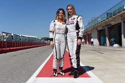 Carlotta Fedeli, B.D. Racing Motorsport, SEAT León TCR, und Alessandra Neri, B.D. Racing Motorsport, SEAT León Cup Racer