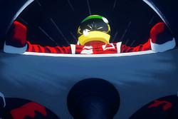 Animación de Ayrton Senna