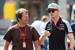 Nico Hulkenberg, Sahara Force India F1 con Michael Schmidt