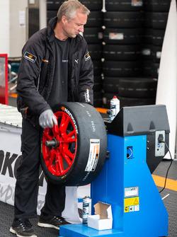 Mechaniker von Hankook