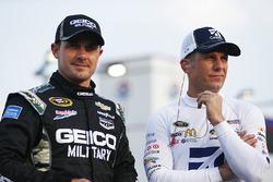 Casey Mears, Germain Racing Chevrolet, Jamie McMurray, Chip Ganassi Racing Chevrolet