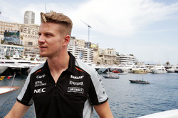 Nico Hulkenberg, Sahara Force India F1 on the Hype Energy Drink yacht