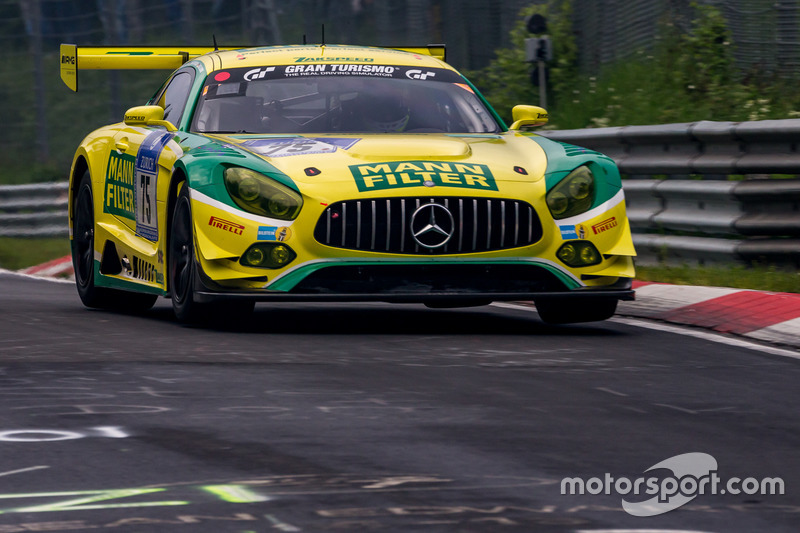 14. #75 Mann Filter Team Zakspeed, Mercedes-AMG GT3