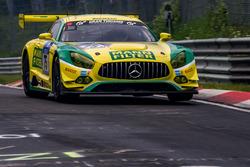 #75 Mann Filter Team Zakspeed, Mercedes-AMG GT3: Kenneth Heyer, Sebastian Asch, Luca Ludwig, Daniel Keilwitz